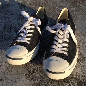 Converse Jack Purcell Low Top Leather Black